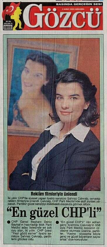 AlmanLiseli Şahnaz Çakıralp CHP Parti Meclisi'ne seçildi (30.01 ...